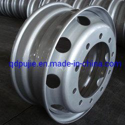 أعلى جودة سعر جيد عجلة من الفولاذ 22.5*8.25 عجلة الشاحنة لـ كاماز