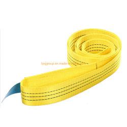 3 la tessitura gialla della piega del doppio di colore di Mtr di tonnellata 5 lancia la cinghia piana