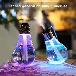 Mini USB Mist Maker purificateur d'air humidificateur Diffuseur Lampe LED 7 couleurs d'humidificateurs