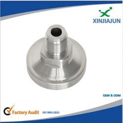 Los adaptadores hidráulicos Inconel 625, 825 Tipo de unión rosca NPT Tornillo del conector de la brida de tubo de acero inoxidable el adaptador de manguera