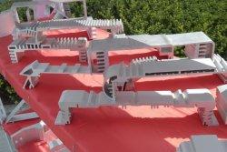 Directa de Fábrica de extrusión de hueco de perfiles de aluminio