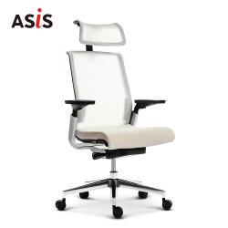 ASIS MATCH의 가벼운 고등 인체공학적 컴퓨터 사무실 가구 메시 가죽 게임 스터디 사무실 의자 시라 프레지덴시알레스