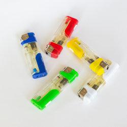 Lampada LED bianca accendino a gas colorato accendino a candela ricaricabile elettronico Con il prezzo all'ingrosso più conveniente