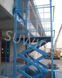 소형/대형 Pit 장착형 화물 리프트 유압 운반 엘리베이터 제품 테이블 올리기