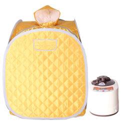 Home Use Mini Portable Home Sauna a vapor e sauna de infravermelhos distante quarto Terapia de desintoxicação de corpo inteiro de emagrecimento SPA Sauna