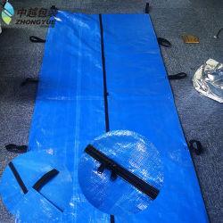 Caja de cadáveres biodegradable de estilo europeo de Corpse muerto de tela Bolsa