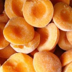 Congelado IQF Apricot dados, mitades de China