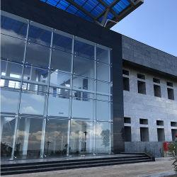 Moderna Construção em alumínio de material de vidro isolante de paredes de Cortina