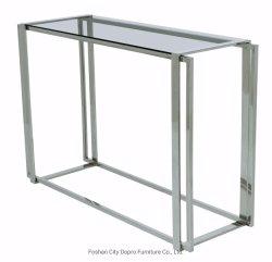 モダンでシンプルなデザインのグレーガラストップエントランスが、自宅での使用に適している