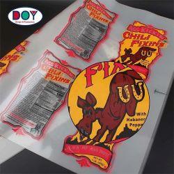 Design personnalisé de gros de feuilles de transfert de chaleur du fer en vinyle sur étiquette pour les Chemises