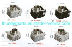Gn150/GS125/Gsr125/Gx125/Cbgs125/GS200/62mm/57mm/56.5mm/66mm를 위한 기관자전차 실린더 구획 장비