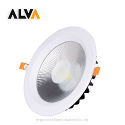 مصباح LED غائر، سطح خارجي، سقف عالي القدرة من الألومنيوم، بتقنية Retrofit، ضوء نهاري ضوء LED الدائري LED 30 واط مع ضوء بيان LED لأسفل مع CE CB قابل للتحايل