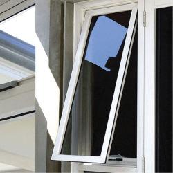 알루미늄/알루미늄 차양 창문, 강화 투명/착색/반사 유리 6mm / 사무실 창문/욕실 차양 아웃/PVC 창문 및 도어