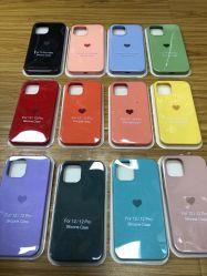 آخر مصنع سعر جملة قلب شكل سيليكون حالة هاتف محمول الملحقات علبة الهاتف لهاتف iPhone 11 12 PRO Max Cell غطاء هاتف للنساء