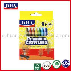 Qualitäts-ungiftiger heller Farben-Wachs-Zeichenstift-China-Lieferant