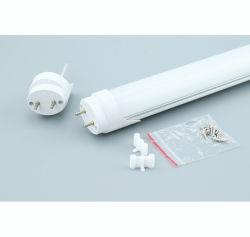 T8 овальные трубы компонент корпус из алюминия или приспособление для прозрачных очистить крышку ПК диффузии с торцевой крышки для светодиодного освещения внутри помещений