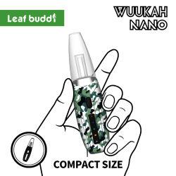 2021 New Trending Leaf Buddi Wuukah Nano Ceramic Quartz 코일 E-Rig DAB 기화기 Dry Herb 휴대용 장치 1200mAh 배터리 왁스 기화기