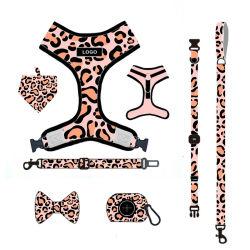 カスタムロゴの設計犬の楽々ハーネスの collar のポップ袋および安全ベルト、ペットのための犬の楽々セット