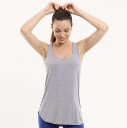 Fabrik Soem-nahtloses Dame-Sport-Trägershirt-Unterhemd