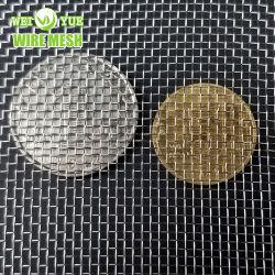 نسيج شبكي سلكي منسج من الفولاذ المقاوم للصدأ مربع معدني S304/316 لشاشة عامل تصفية الغربال/ الشبكة السلكية المصنوعة من الفولاذ الشبكة