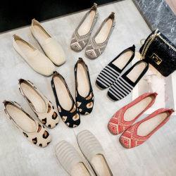 なまけ者の女性の靴の卸し売り方法Plimsoleポンプ方法ボートのスリップ