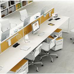 Moderne Fabrik-Preis-Stufenbau-Schreibtisch-Büro-Arbeitsplatz-Büro-Möbel mit Bildschirm