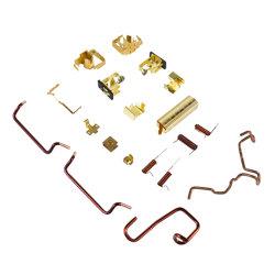 エンジン部分モーターブラシホルダまたは銅のケーブルまたはばね指