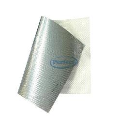 Barriera al vapore isolamento in fibra di vetro rivestimento in lamina di alluminio tessuto in fibra di vetro per Scheda PIR