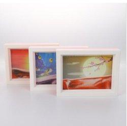 3D Creative artesanía en vidrio decoraciones hogar Dynamic arenas movedizas de la pintura