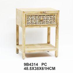 목재 가구, 서랍식 침대, 등나무 침대 테이블