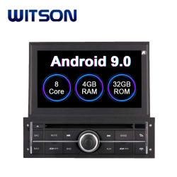 Witson 인조 인간 9.0 자동차 라디오 미츠비시 L200 차량 항법 GPS를 위한 입체 음향 DVD 플레이어
