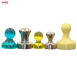 حجم مخصص مغناطيس دبابيس من النيوديميوم الدائم الملونة للمكتب والمنزل