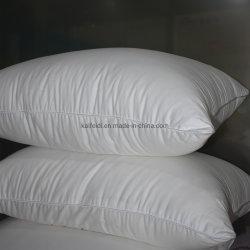 Foshan calidad blanca almohada microfibra poliéster para Hotel