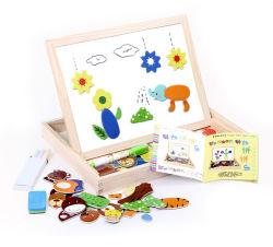По вопросам образования деревянные игрушки для детей Дети малышей магнитные чертеж платы