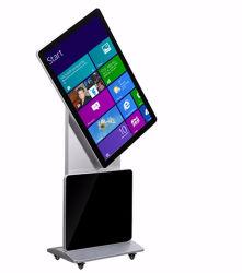 55 pouces écran tactile rétroéclairage LCD Rotation Ad Player