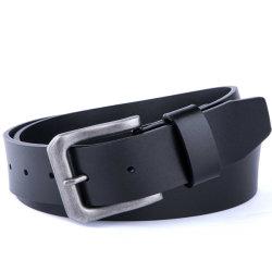 Custom Logo Ceinture pour Homme lega pin fibbia Nero 100% Cintura in vera pelle per uomo