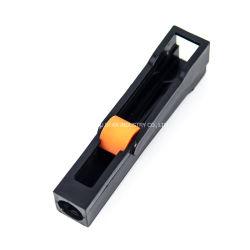 Personnalisé de moulage par injection en plastique ABS noir pour régulateur de débit de liquide