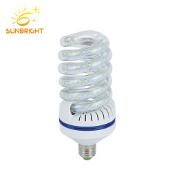 Spriral E27 de 20 vatios de luz LED de sustituir las bombillas CFL