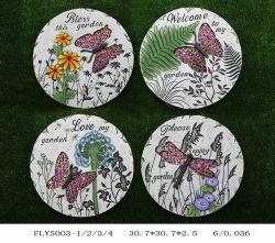 Diseño de Jardín de Mariposas y libélulas peldaño Accesorios