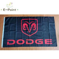 Aangepast om het even welke Vliegende vlag van de Auto Groothandel de banner van het Polyester