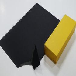 Produktionszweig Farbanstrich-Kunst-Geschenk-Beutel-Schwarz-Pappe für das Stempeln