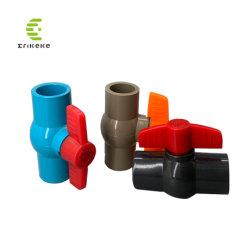 40mm as válvulas de esfera de PVC de Metro multifuncional