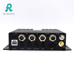 H. 264 Echtzeit GPS Tracking Monitoring Software Plattform 4 Kanal 4G Mdvr