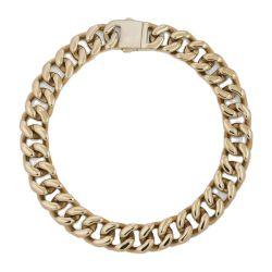 Custom All Size Miami Gold Colors Нержавеющая сталь кубинская Link Ожерелье Choker для ювелирного производства