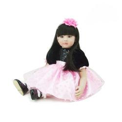 60cm poupée fait main Boneca Reborn Toddler poupée bébé fille corps en tissu souple en silicone ultra réalistes Bebe poupée Reborn