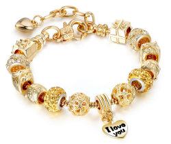 Luxe Crystal Heart Diamond Armband Bedelarmbanden Armbanden Bangels for Women Sieraden Pulseira Feminina Love Crystal Armband