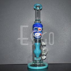 Tubo di Hookah di vetro di Tabacco di Esigo tubo di fumo dell'acqua