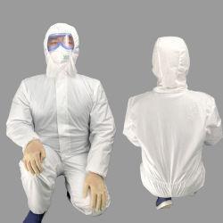 항 바이러스 처분할 수 있는 작업복, 안전 착용, 보호의