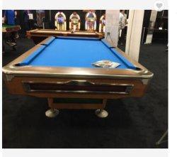 Top Slate 9 ft Solid Wood Pool Table スヌーカーテーブルサッカー ビリヤードホームジムマシン屋内エクササイズ設備フィットネスワークアウトトレーニング 屋内ジムスポーツ用品