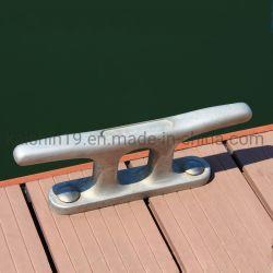 卸し売り海洋のハードウェア2t、5t、10t、15tは鋳鉄の係留ボートのドックのクリートに電流を通した